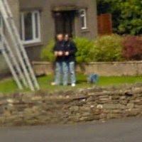 gambar aneh google street view kaki tiga