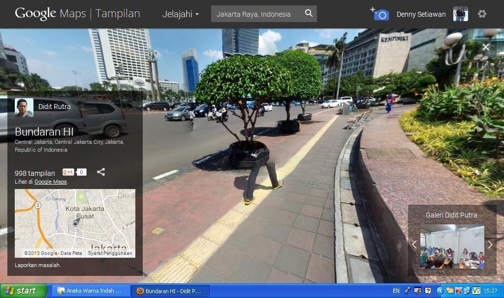 gambar aneh google street view