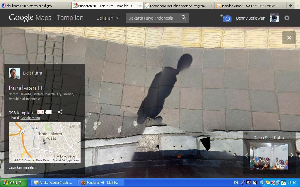 gambar aneh google streetview