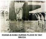 gambar langka mekah banjir