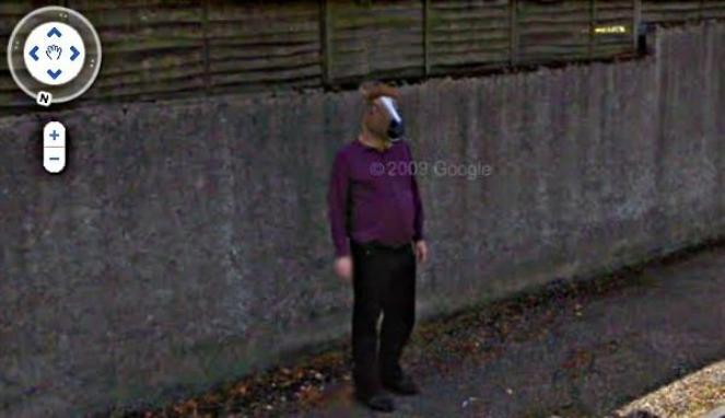 gambar unik google street view