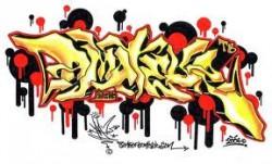 gambar unik grafity