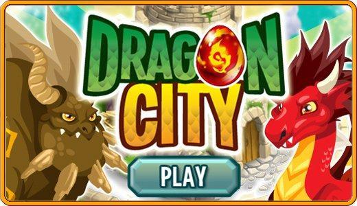 logo game dragon city di facebook