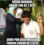 Meme Lucu dan Gokil Untuk Gambar DP BBM