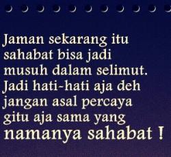 Gambar Foto DP BBM Sindiran buat Teman Munafik 10