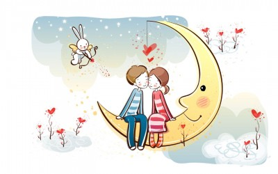 770 Gambar Kartun Romantis Yang Terbaik