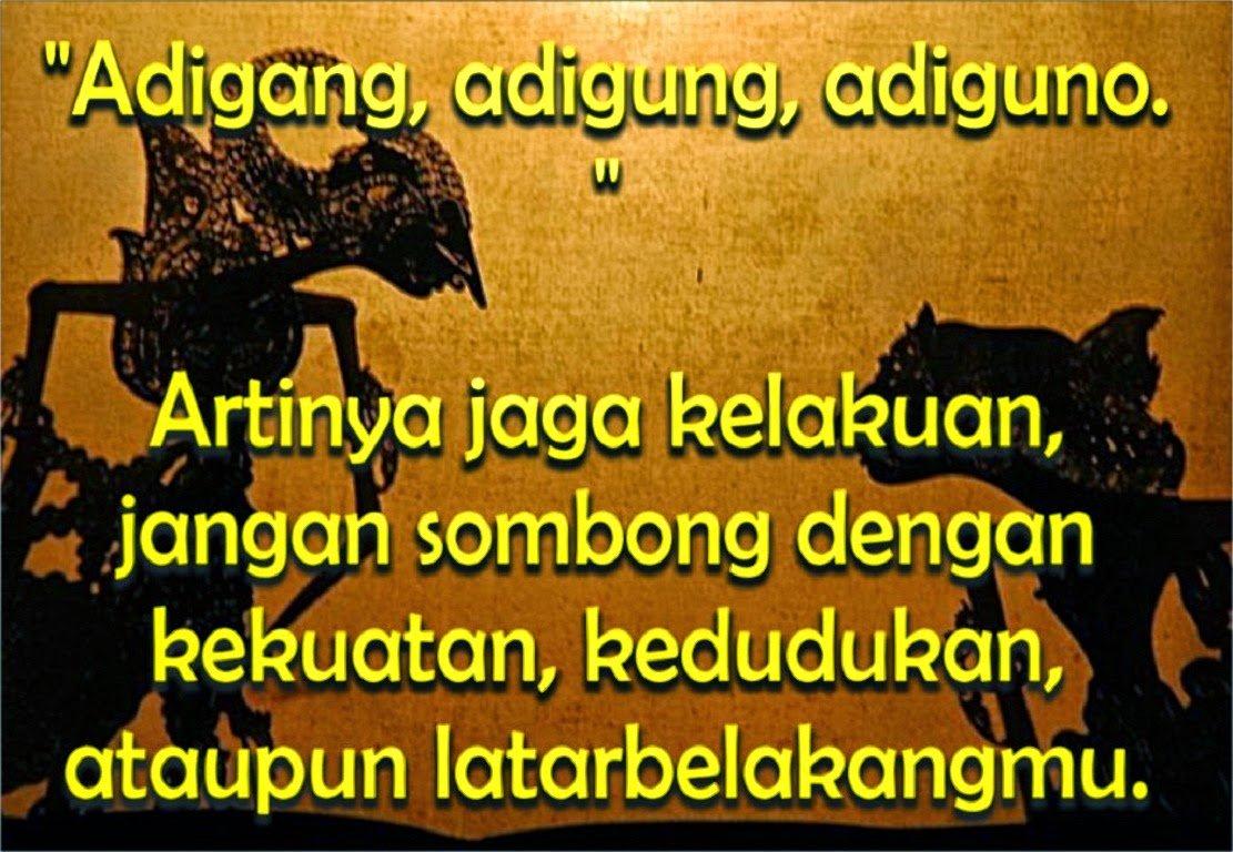 Kumpulan Kata Kata Bijak Bahasa Jawa Dengan Artinya ...