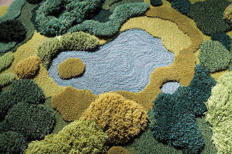 Karpet Unik Ini Bikin Kamu Berasa Punya Kebun Dalam Rumah