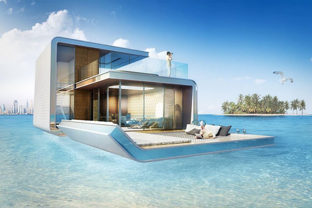 Kerennya, Villa-Villa di Dubai Ini Mengapung di Atas Laut