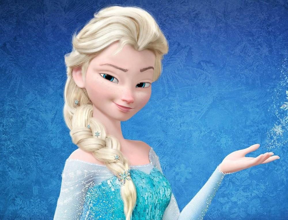 Elsa tanpa Makeup