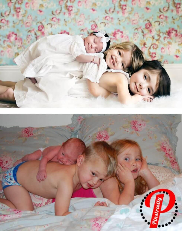 Saat Foto Para Bayi Kekinian Gagal, Ini Dia yang Bikin Kocak