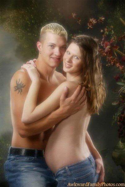 Foto-Foto Kehamilan Paling Aneh Sepanjang Masa