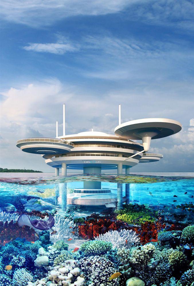 Super Bagus, Hotel Bawah Laut Ini Bakal Bikin Kamu Pengen Kesana