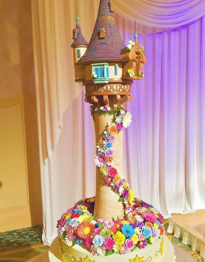 Kue dengan Gambar Tokoh Disney Ini, Bener-Bener Buat Yang Mesen Kapok!