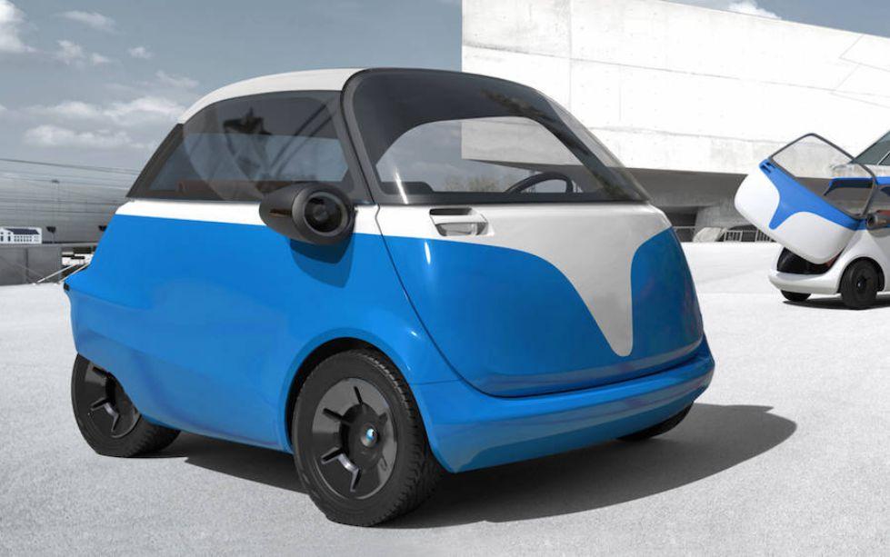 Kita Intip Si 'Microlina' Yuk, Mobil Elektrik Mini Masa Depan