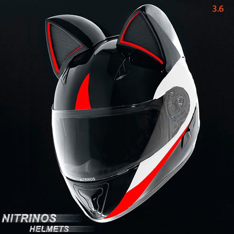 Helm-Helm Berkuping Bentuk Kucing, Aneh tapi Nyata