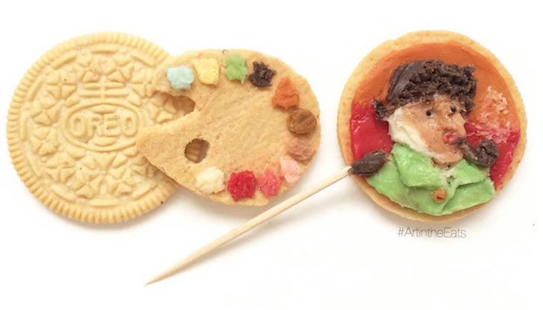 Biskuit Oreo Ini Disulap Jadi Karya Seni Yang Menakjubkan!