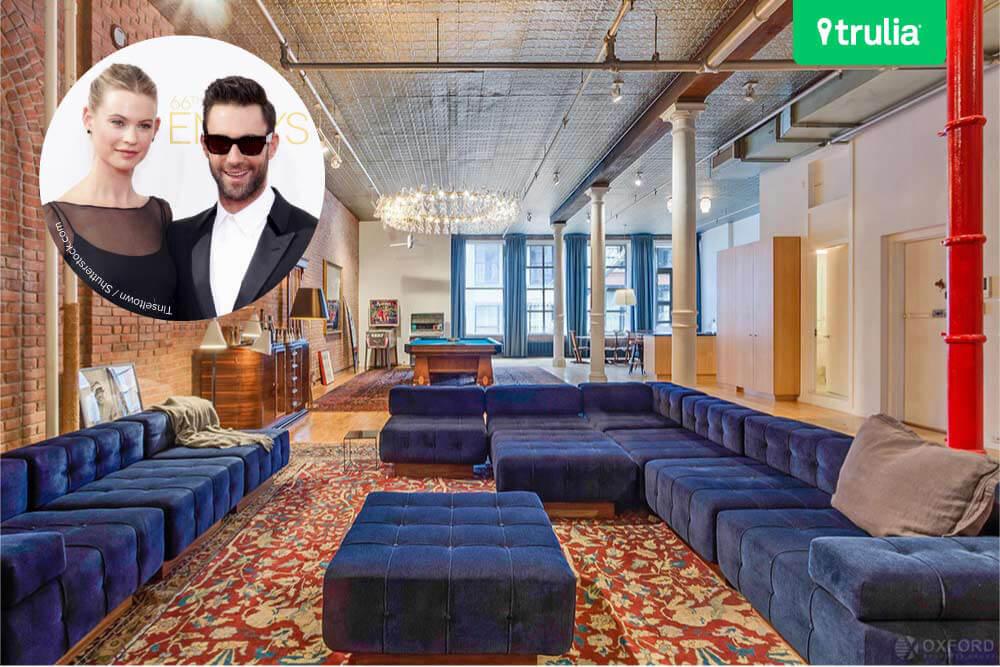 Lihat Isi Rumah Pasangan Keren Adam Levine dan Behati Prinsloo Yuk!