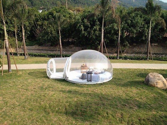 Tenda Transparan Ini Bakal Bikin Kegiatan Berkemah Kamu Jadi Luar Biasa!