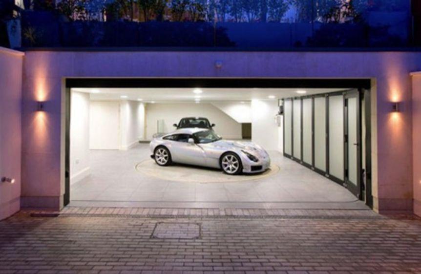 Wow, Ini Dia Garasi-Garasi Mobil Paling Keren!