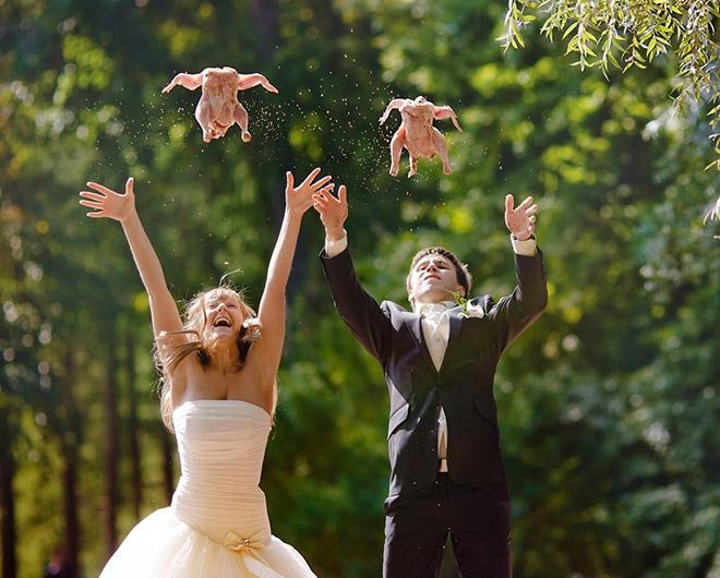 Foto Pre-Wedding Teraneh Sepanjang Masa