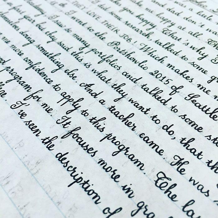 Terlalu Rapi, Tulisan-Tulisan Tangan Ini Dijamin Bakal Buat Kamu Pening