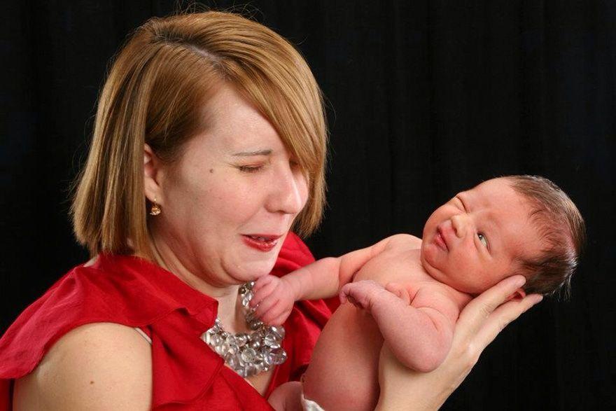 Lucu, Ini Dia Sesi Foto yang Gagal Akibat Ulah Para Bayi!