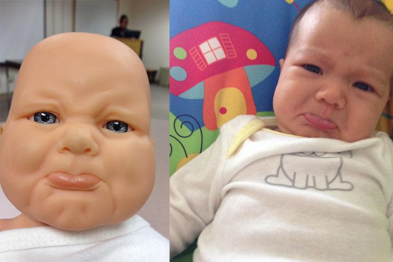 foto bayi ini mirip
