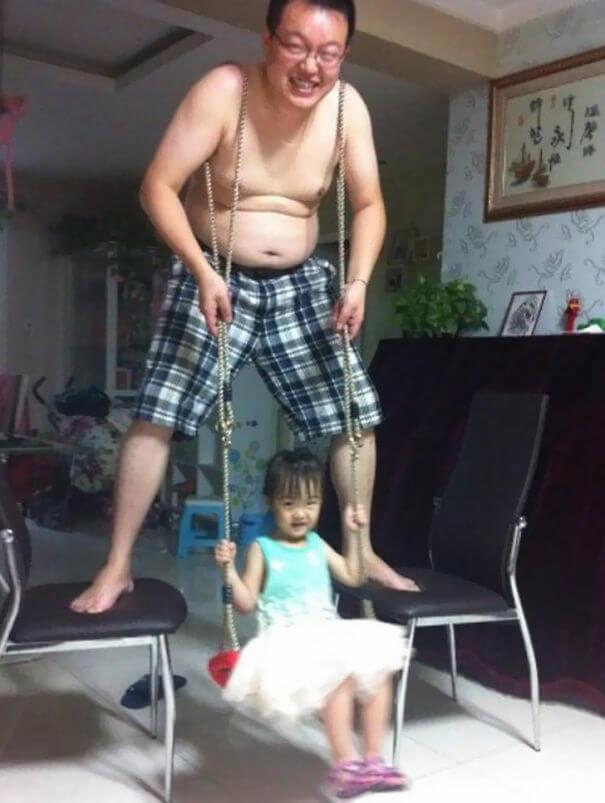 Begini Nih kalau Anak Ditinggal sama Ayahnya, Kacau Balau Deh!