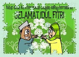 Gambar Lucu Ucapan Selamat Hari Raya Idul Fitri