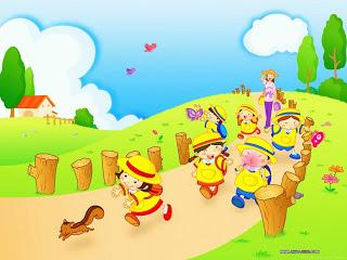 Gambar Kartun Anak Lucu
