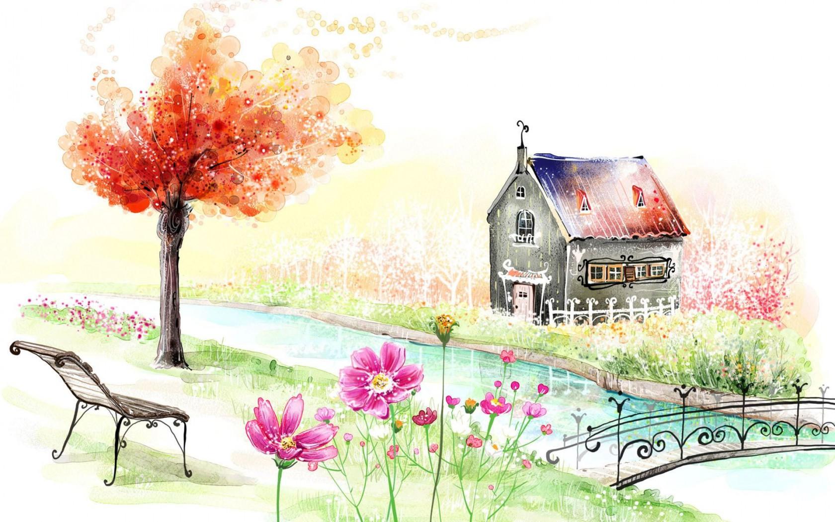 gambar-lukisan-bunga-alam-abstrak-terbaru-rumah-bunga-alam1 ...