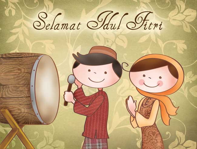Gambar Ucapan Hari Raya Idul Fitri Gambar Idul Fitri Gambargambarco
