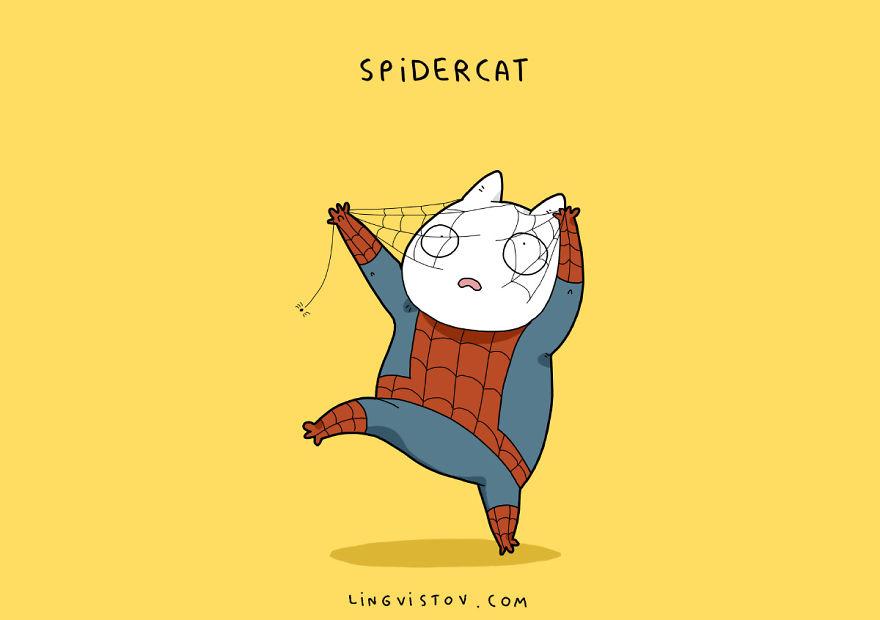 Kebayang Gimana Jadinya Kalau Para Kucing Jadi Superhero? Begini Kira-Kira