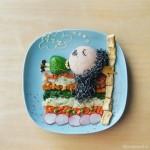 Super Kreatif, Ibu Ini Buat Bekal Makanan yang Tidak Biasa
