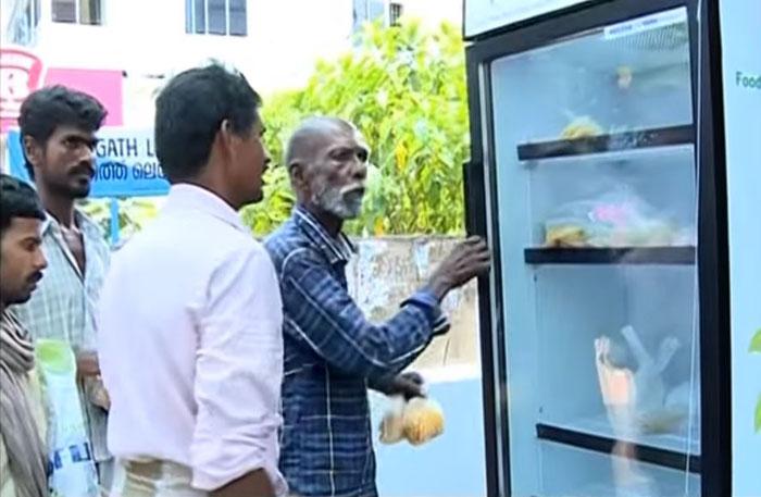 Hebat, Restoran Ini Punya Kulkas Khusus untuk Mereka yang Kelaparan