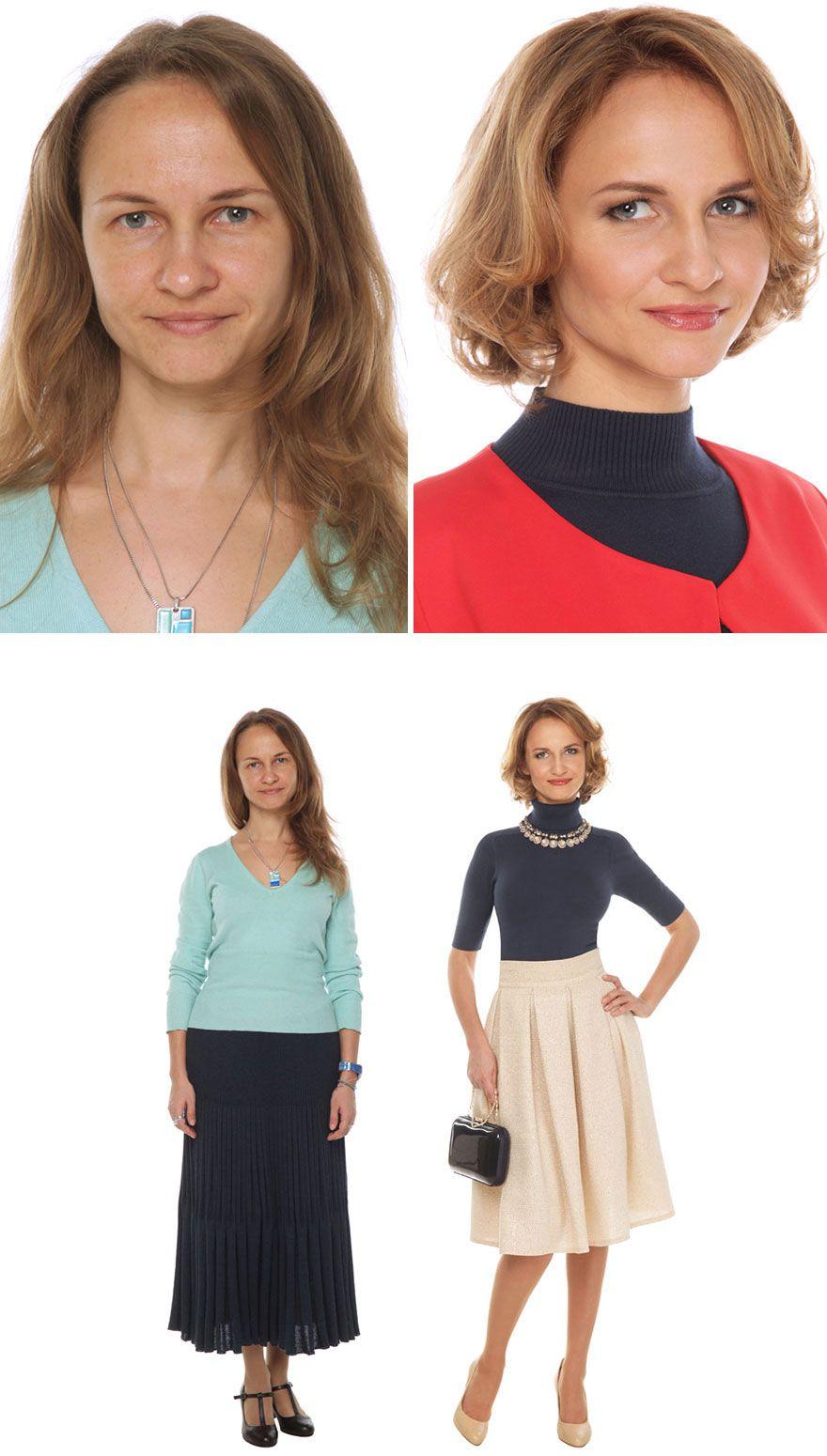 Semua Wanita Itu Cantik, Lihat Saja Hasil Make Over Stylist Asal Rusia Ini!