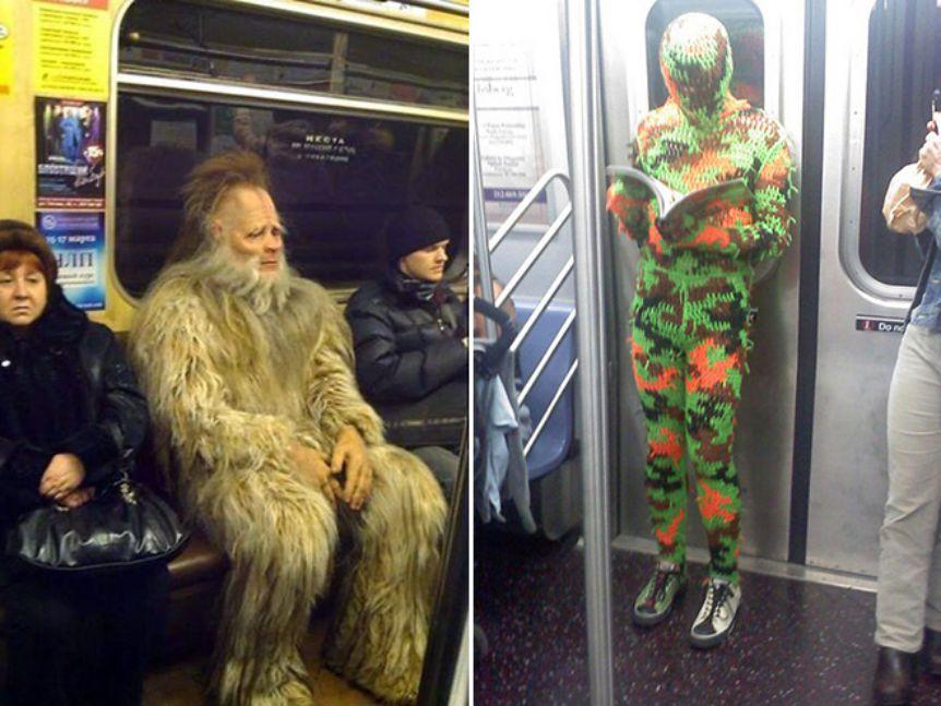 Kocak, Aksi Beberapa Orang di Kereta Ini Bakal Bikin Kamu Ketawa!